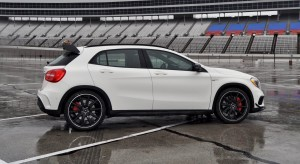 First Drive Review - 2015 Mercedes-AMG GLA45 29