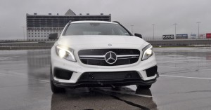 First Drive Review - 2015 Mercedes-AMG GLA45 3