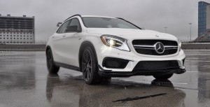 First Drive Review - 2015 Mercedes-AMG GLA45 4