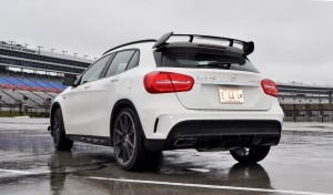First Drive Review - 2015 Mercedes-AMG GLA45 49