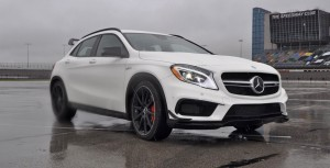 First Drive Review - 2015 Mercedes-AMG GLA45 5