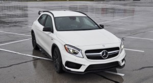 First Drive Review - 2015 Mercedes-AMG GLA45 6