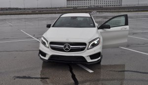 First Drive Review - 2015 Mercedes-AMG GLA45 79