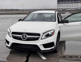 First Drive Review – 2015 Mercedes-AMG GLA45 Is Tiny, Fugly and Massively Overpriced
