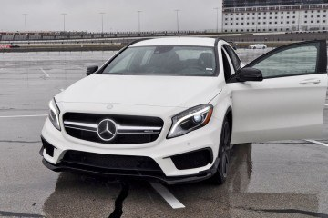 First Drive Review - 2015 Mercedes-AMG GLA45 80