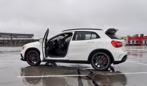 First Drive Review - 2015 Mercedes-AMG GLA45 87