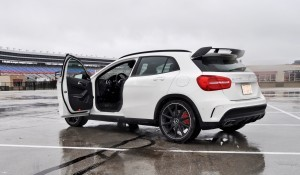 First Drive Review - 2015 Mercedes-AMG GLA45 89