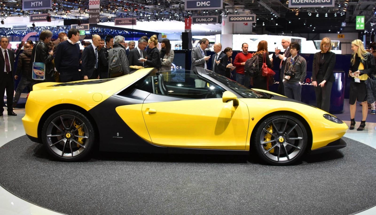 Geneva 2015 Gallery - 2015 Ferrari Sergio by Pininfarina  1