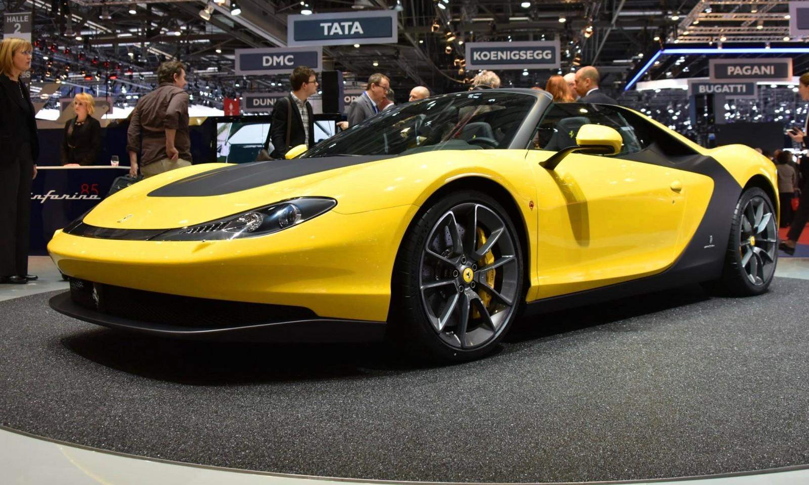 What Does Cts Stand For >> Geneva 2015 Gallery - 2015 Ferrari Sergio by Pininfarina