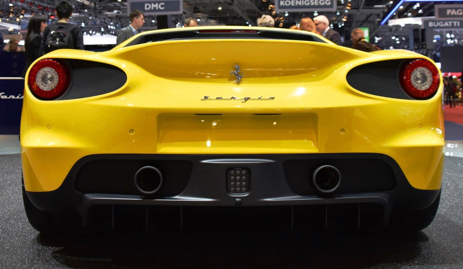 Geneva 2015 Gallery - 2015 Ferrari Sergio by Pininfarina  5
