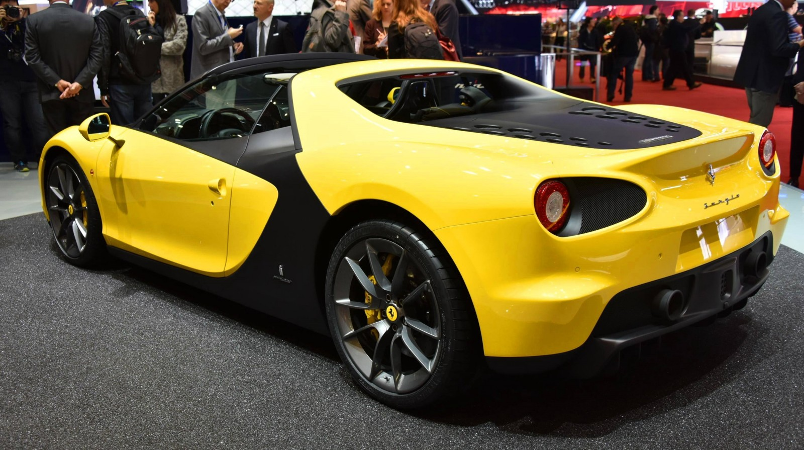 Geneva 2015 Gallery - 2015 Ferrari Sergio by Pininfarina  7