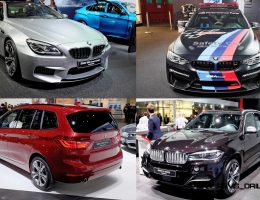 Geneva 2015 Gallery – BMW Stand In 40 Photos