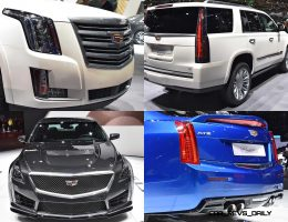 Geneva 2015 Gallery – Cadillac ATS-V and CTS-V + Euro-Spec Escalade Platinum