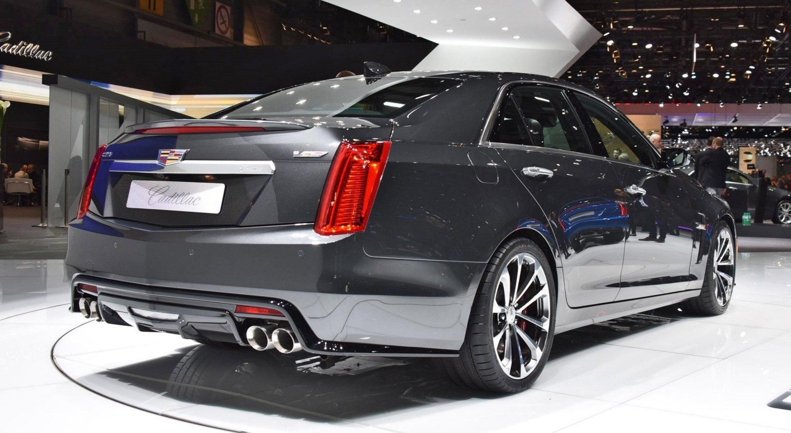 Geneva 2015 Gallery - Cadillac ATS-V and CTS-V + Euro-Spec Escalade Platinum 12