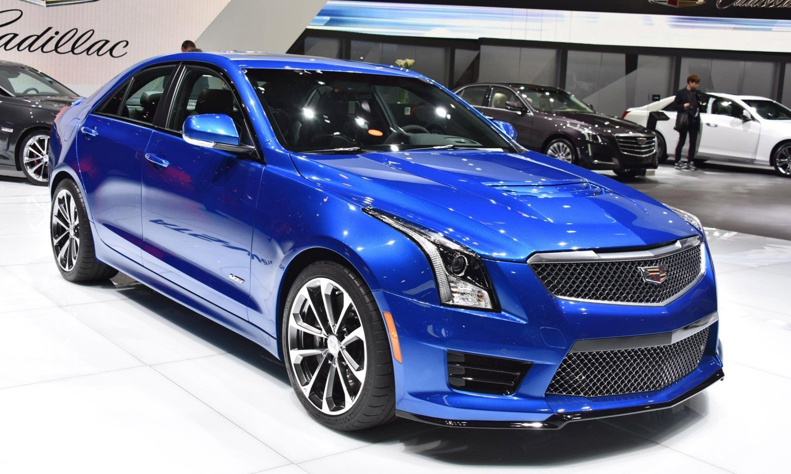 Ats Vs Cts >> Geneva 2015 Gallery - Cadillac ATS-V and CTS-V + Euro-Spec ...