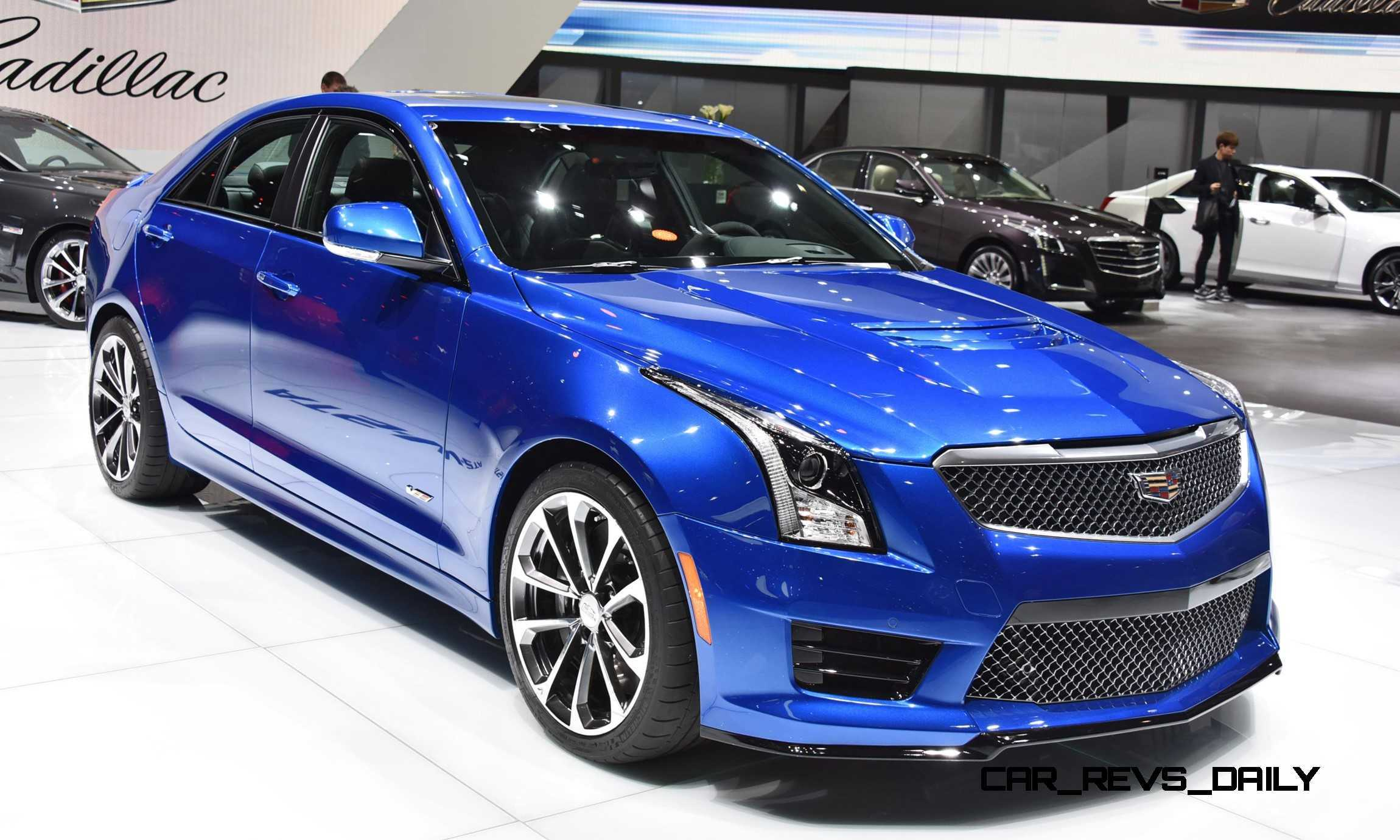 geneva 2015 gallery cadillac ats v and cts v euro spec. Black Bedroom Furniture Sets. Home Design Ideas