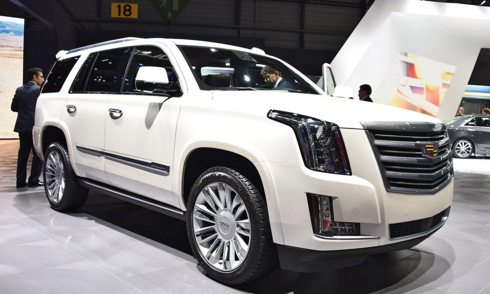 Geneva 2015 Gallery - Cadillac ATS-V and CTS-V + Euro-Spec Escalade Platinum 2