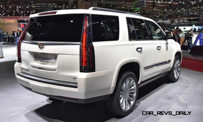 Geneva 2015 Gallery - Cadillac ATS-V and CTS-V + Euro-Spec Escalade Platinum 4