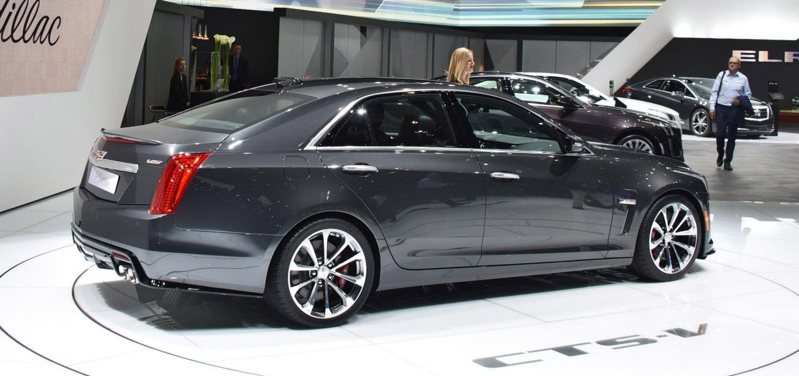 Geneva 2015 Gallery - Cadillac ATS-V and CTS-V + Euro-Spec Escalade Platinum 7