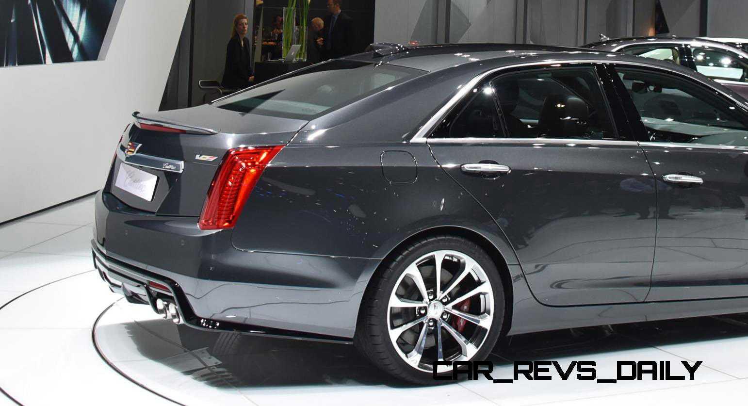 Geneva 2015 Gallery - Cadillac ATS-V and CTS-V + Euro-Spec Escalade Platinum 8