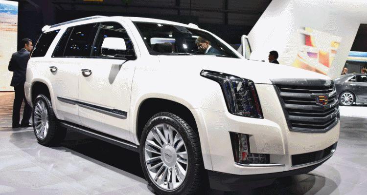 Geneva 2015 Gallery - Cadillac ATS-V and CTS-V + Euro-Spec Escalade Platinum