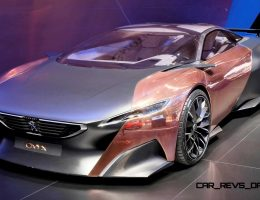Geneva 2015 Showfloor – PEUGEOT 208 and 308 GT Glammed-Up By ONYX and QUARTZ Concepts