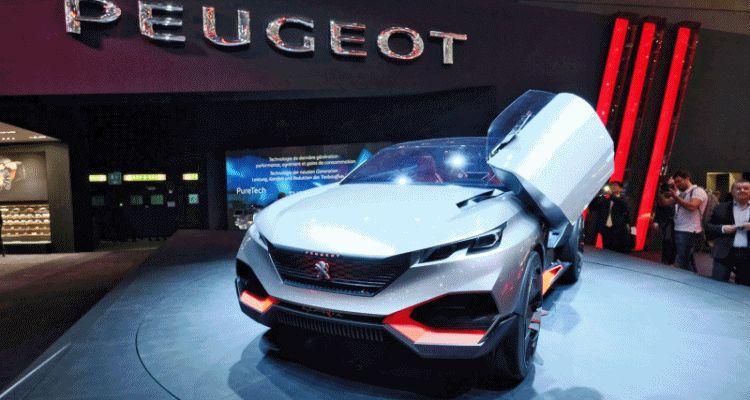 Geneva 2015 Showfloor - PEUGEOT quatrz