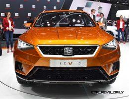 Geneva 2015 Showfloor – SEAT Builds Buzz With 20V20 Concept and Production Leon ST CUPRA 280 Trio
