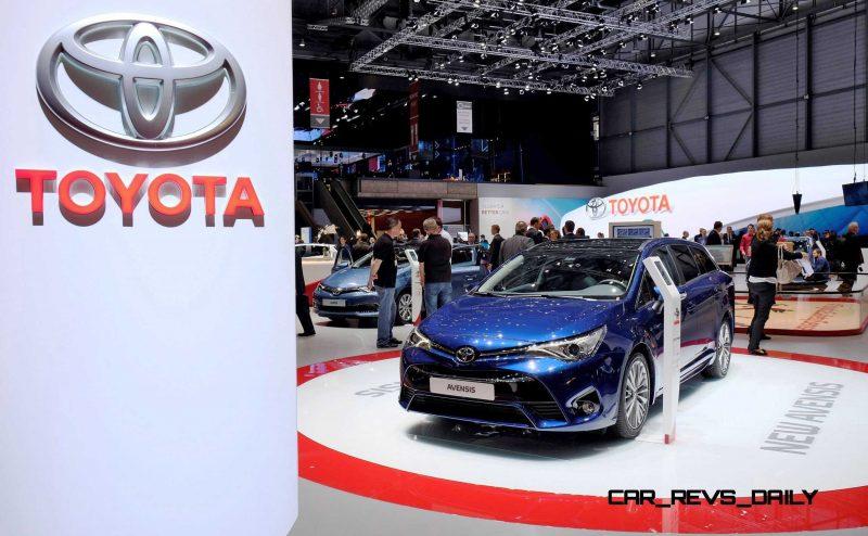Geneva 2015 Showfloor - Toyota 4