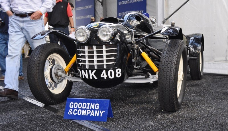 Gooding Amelia 2015 - 1951 Lotus Mk IIIB Was First-Ever Customer Lotus 10