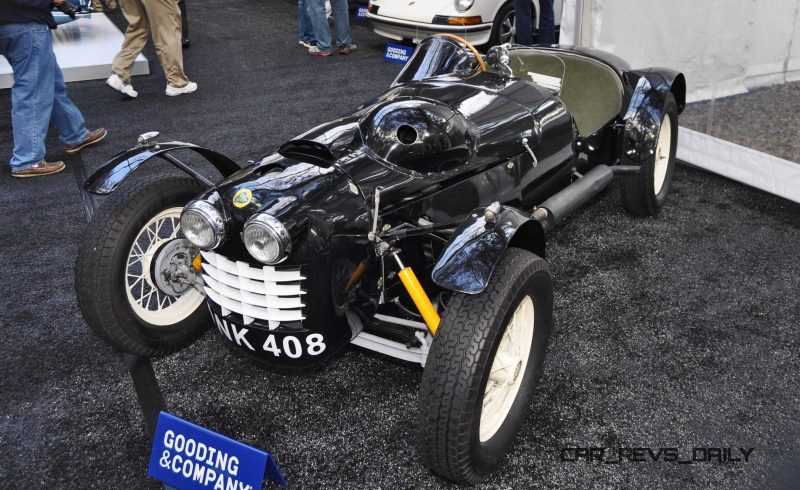 Gooding Amelia 2015 - 1951 Lotus Mk IIIB Was First-Ever Customer Lotus 12