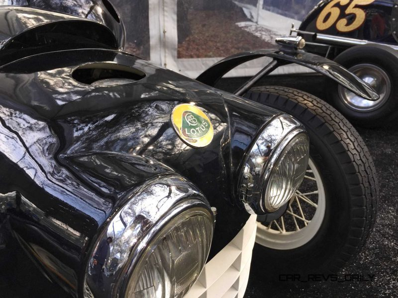 Gooding Amelia 2015 - 1951 Lotus Mk IIIB Was First-Ever Customer Lotus 4