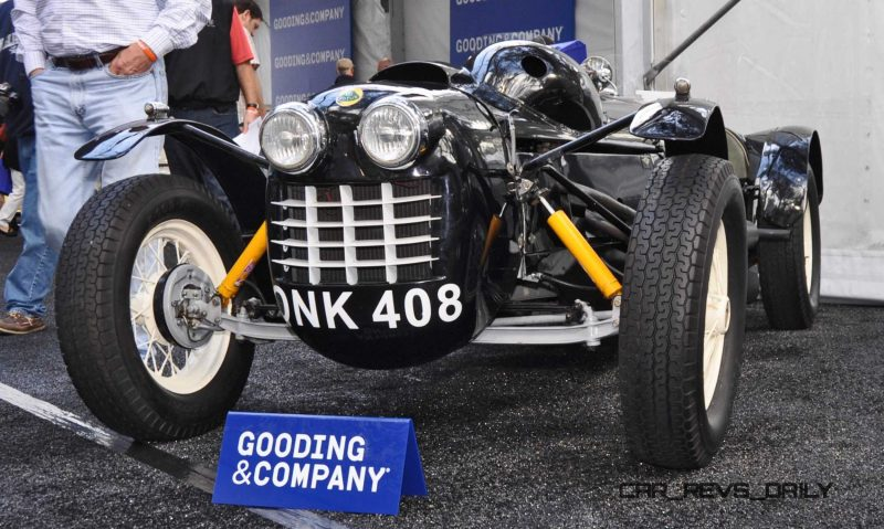 Gooding Amelia 2015 - 1951 Lotus Mk IIIB Was First-Ever Customer Lotus 9