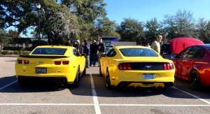 HD Road Test Review - 2015 Ford Mustang EcoBoost in Triple Yellow with Performance Pack 10