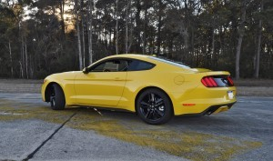 HD Road Test Review - 2015 Ford Mustang EcoBoost in Triple Yellow with Performance Pack 121