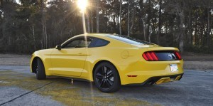 HD Road Test Review - 2015 Ford Mustang EcoBoost in Triple Yellow with Performance Pack 123