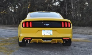 HD Road Test Review - 2015 Ford Mustang EcoBoost in Triple Yellow with Performance Pack 129