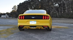 HD Road Test Review - 2015 Ford Mustang EcoBoost in Triple Yellow with Performance Pack 130