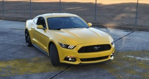HD Road Test Review - 2015 Ford Mustang EcoBoost in Triple Yellow with Performance Pack 160