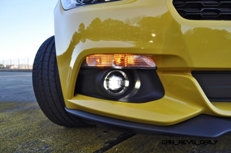 HD Road Test Review - 2015 Ford Mustang EcoBoost in Triple Yellow with Performance Pack 171