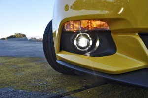 HD Road Test Review - 2015 Ford Mustang EcoBoost in Triple Yellow with Performance Pack 172