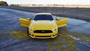 HD Road Test Review - 2015 Ford Mustang EcoBoost in Triple Yellow with Performance Pack 190