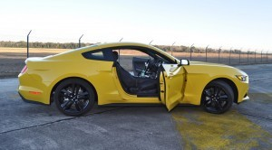 HD Road Test Review - 2015 Ford Mustang EcoBoost in Triple Yellow with Performance Pack 201