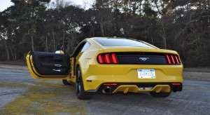 HD Road Test Review - 2015 Ford Mustang EcoBoost in Triple Yellow with Performance Pack 209
