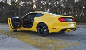 HD Road Test Review - 2015 Ford Mustang EcoBoost in Triple Yellow with Performance Pack 212