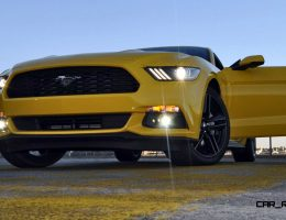 HD Road Test Review – 2015 Ford Mustang EcoBoost in Triple Yellow with Performance Pack
