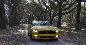 HD Road Test Review - 2015 Ford Mustang EcoBoost in Triple Yellow with Performance Pack 227