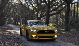 HD Road Test Review - 2015 Ford Mustang EcoBoost in Triple Yellow with Performance Pack 228