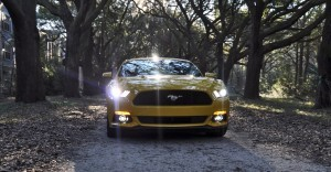 HD Road Test Review - 2015 Ford Mustang EcoBoost in Triple Yellow with Performance Pack 229