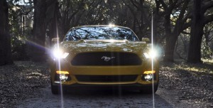 HD Road Test Review - 2015 Ford Mustang EcoBoost in Triple Yellow with Performance Pack 230